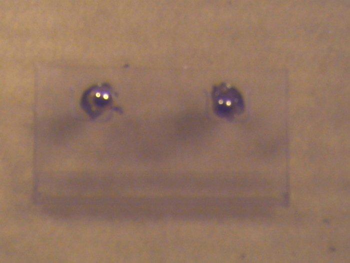 Gold Post Pierced Earrings