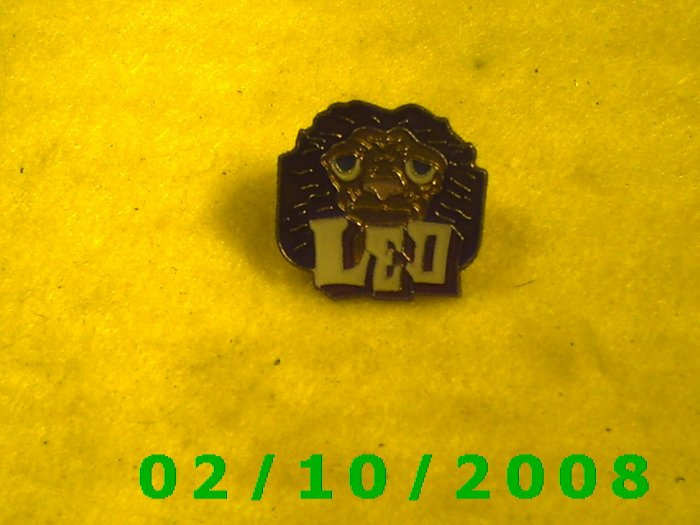 Leo the Lion Hat Pin