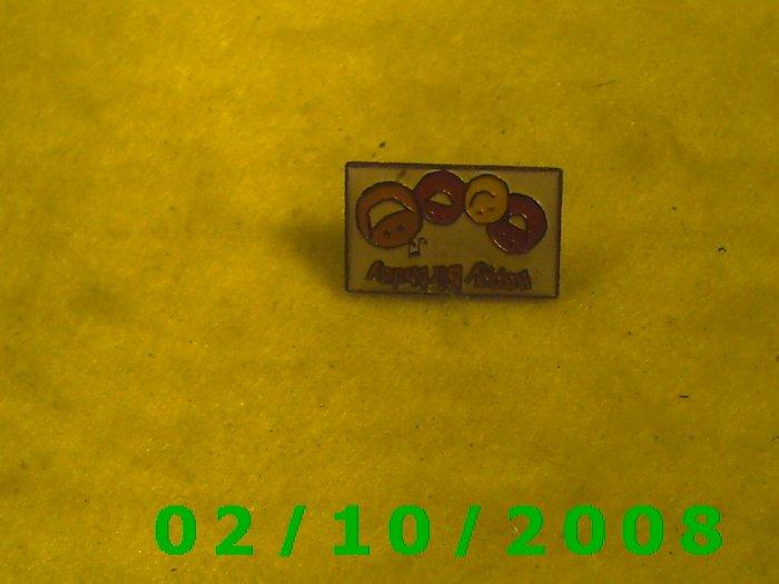 Happy Birthday signed KACO Hat Pin