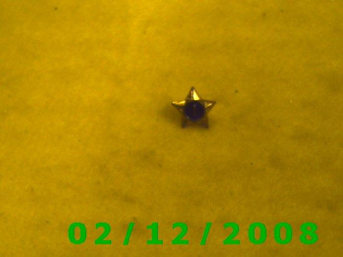 Star 1 Hat Pin
