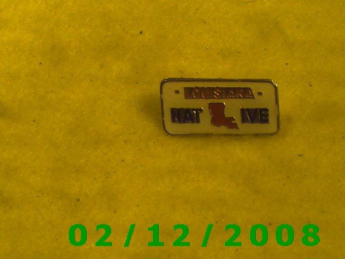 Louisiana NativeHat Pin