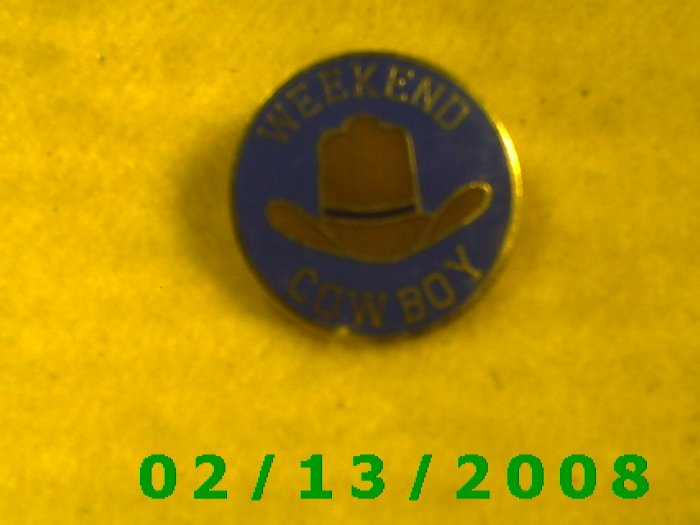 Weekend Cowboy Pin CreationsHat Pin