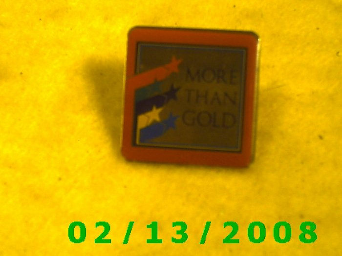 More Than Gold Hat Pin