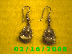 .925 Silver Earrings (013)