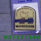 Woodstock Lapel Pin Three Days of Peace and Music