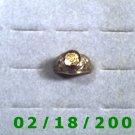 Gold Shield Ring VFW size 10  Lifetime Warranty