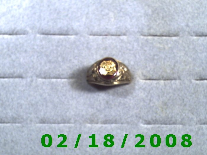 Gold Shield Guard Ring VFW size 12  Lifetime Warranty