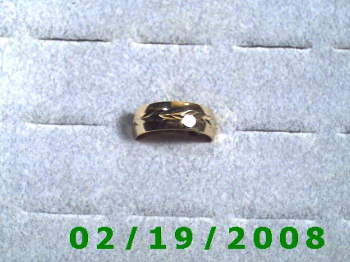 Wedding Band or Thumb Ring  size 11 Lifetime Warranty