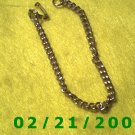 """7"""" Gold Bracelett (018)"""