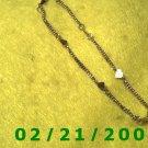 "9"" Gold n Harts Bracelett (014)"