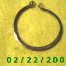 """7"""" Gold Plated Bracelet 5mm wide(027)"""