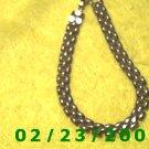 """7"""" 7mm wide Gold Plated Bracelet (033)"""