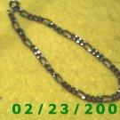 """9"""" 5mm wide Silver Bracelet (045)"""