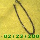 "7 1/2"" 4mm round Silver Bracelet (047)"