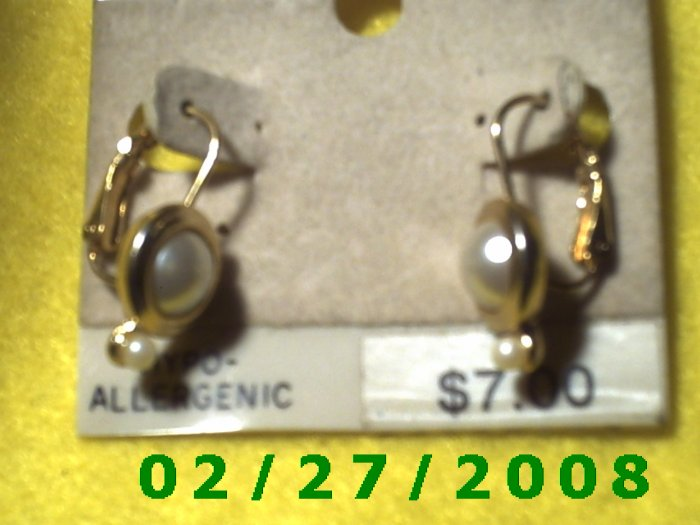 Earrings, Hypo Allergenic (015)