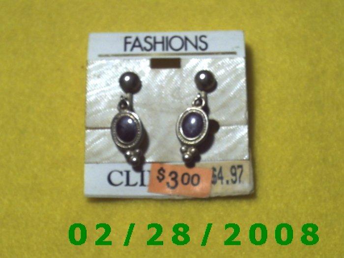 Earrings, Clip On (001)