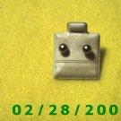 Earrings Hypo Allergenic 2 mm Silver bead (015)