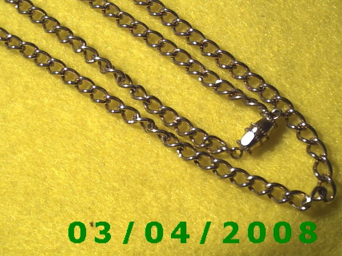 "30"" Gold Necklace w/screw connector (057)"