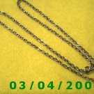"25"" Silver Necklace (027)"
