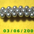 Bead Hair Barrette (009)