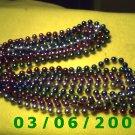 5 Strands of Mardi Gra Beads (010)