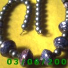 """18 1/2"""" Bead Necklace Made in Japan (022)"""