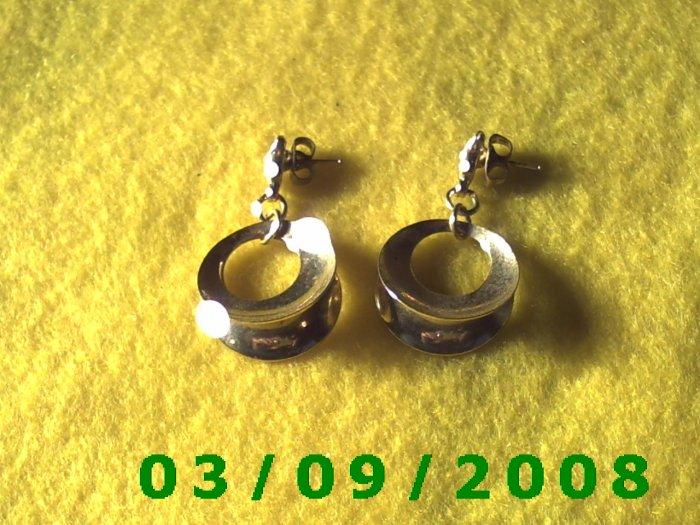 Gold Pierced Earrings (002)
