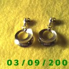 Gold Pierced Earrings (002)
