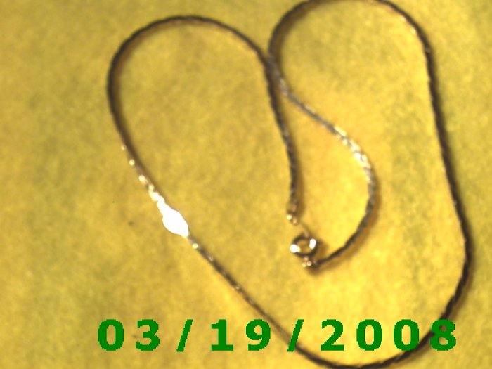 """Vintage 18""""  Gold Plated 50's Necklass (011)"""