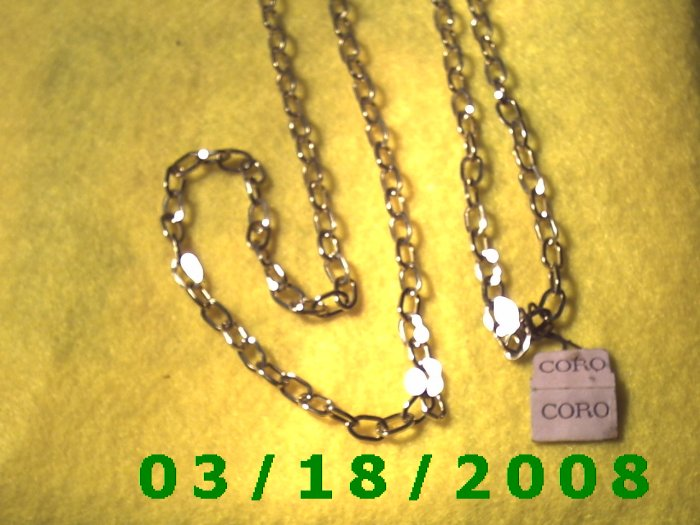 """35"""" 5mm Silver Necklace (009)"""