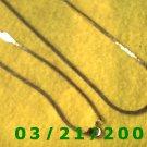 "30"" 2mm Gold Necklace  (E-4014"