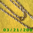 "24"" 4mm Gold Necklace  (E-4021)"