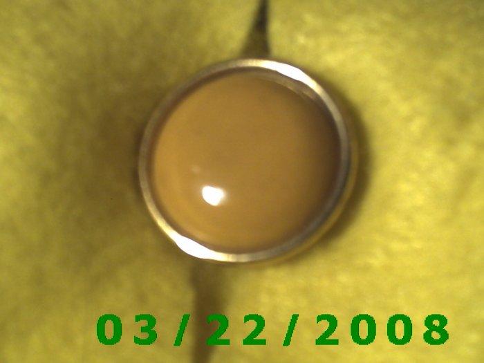 "15/16"" Button Cover Brass  (R001)"