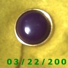 "15/16"" Brass Button Cover Maroon  (R005)"