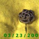 """1"""" Gold Button Cover (plastic)  (R020)"""