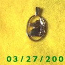 Gold Horse Head Pendants or Charm  (010)