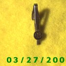 Gold Tie Clasp w/Indian  (017)