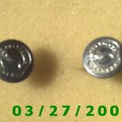 "Silver Buttons ""Greyhound Lines) Made in England  (028)"