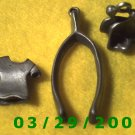 3ea Pewter Charms   (009)