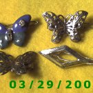 4ea Hair Barrettes   (011)