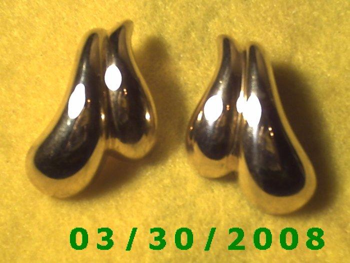 Gold Pierced Earrings (019)