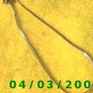 Silver Bracelet or Aanklet   (006)
