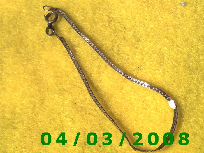 Silver Bracelet   007