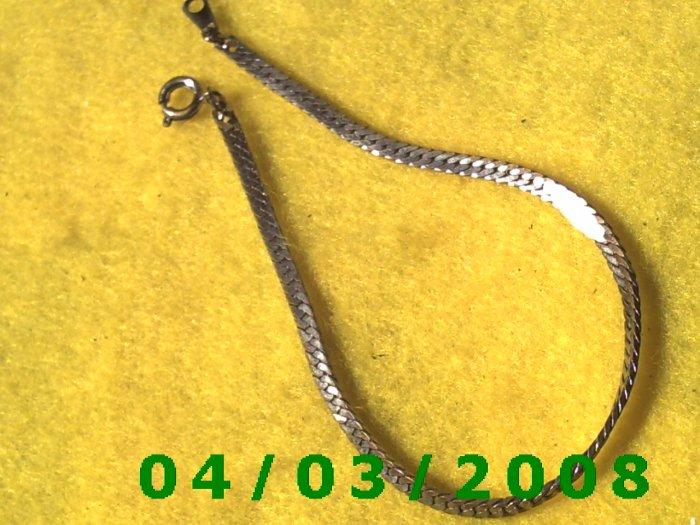 Silver Bracelet    012