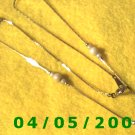 Gold Necklace w/beads (Avon)   E5001