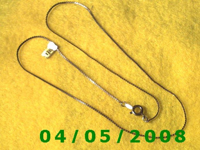 Gold Necklace   E5002