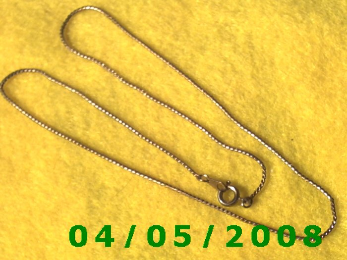 Gold NecklaceE5003