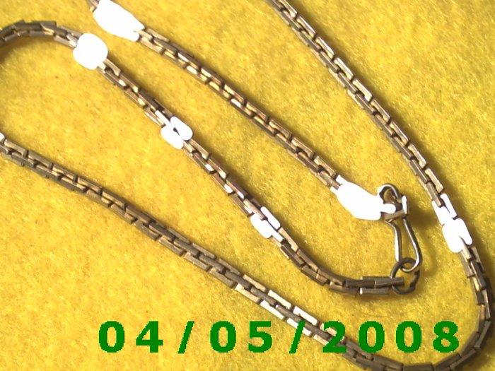Silver Necklace (Napier)      E5014