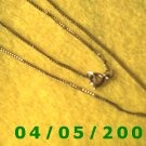 Gold Necklace    E5022