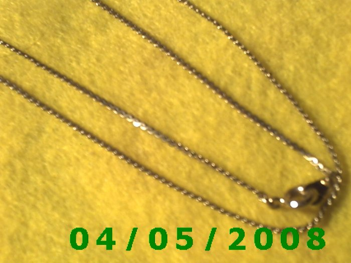 Gold Necklace    E5026
